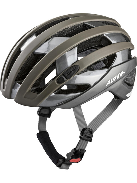 Alpina Campiglio Helmet sepia-titanium